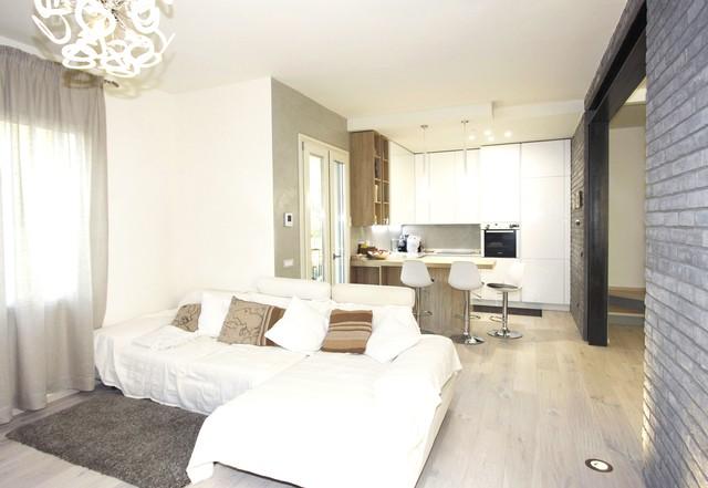 L 39 appartamento in stile moderno archistudio832 for Appartamento stile moderno